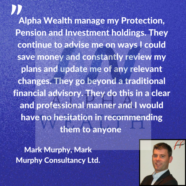 Financial Advisor - testimonial for Alpha Walth